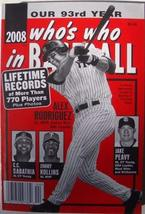 2008 Who's Who in Baseball [Paperback] [Jan 01, 2008] Palmer, Pete, Ed.