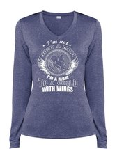 I'm A Mom To A Child With Wings T Shirt, I'm Not Just A Mom T Shirt, Coo... - $29.99+