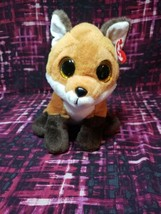 "Ty Classic 9.5"" Medium FAY Fox Stuffed Animal Plush Toy MWMT Retired Collectible - $16.73"