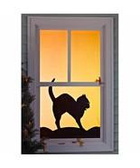 WOWindow Halloween Window Poster Black Cat - $19.79