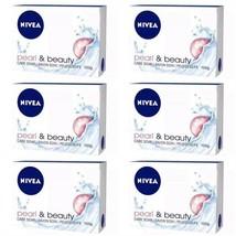 Nivea Pearl & Beauty Bar Soap, 100g (Pack of 6) - $14.99