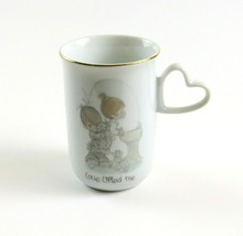 Precious Moments 'Love Lifted Me' Coffee Cup 1984 Enesco Vintage Collect... - $9.89