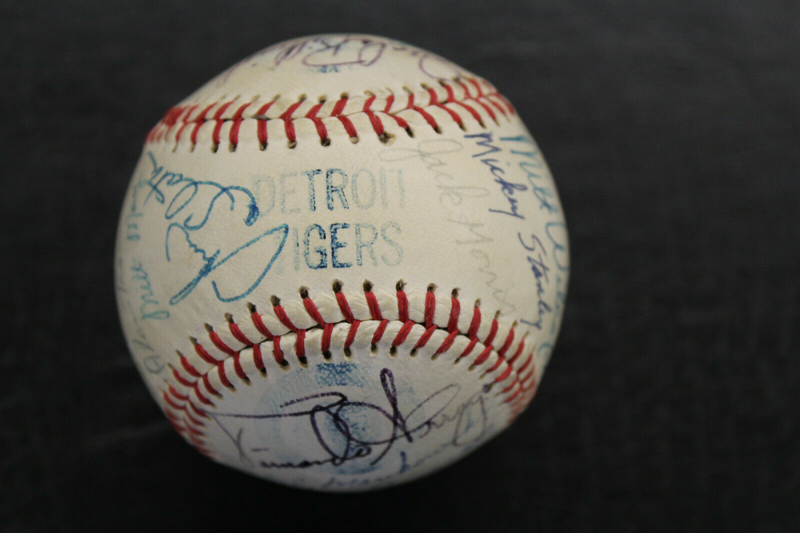 Primary image for 1978 Detroit Tigers Team Signed Ball 26 Signatures Trammell Moris Kemp Fidrych