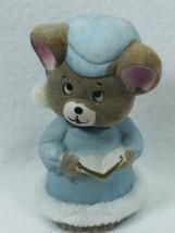 Vintage jasco Bedtime Critters Porcelain Bell Christmas Xmas Taiwan 25364 - $14.84