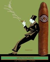 Quality Tobacco POSTER.Cuban Cigar.Montecristo.Havana Cuba.Room home dec... - $9.90+