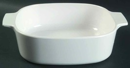 Corning Ware CCORELLE REVERE 2 QUART Casserole Skillet WHITE MADE IN USA... - $28.40