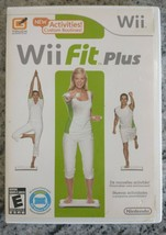 Wii Fit Plus Nintendo Game, 2009 CIB Tested Works Ships Right away Manual - $11.26