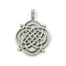 Celtic - Spiritual Strength Fine Pewter Cast Pendant - 29x39x4mm