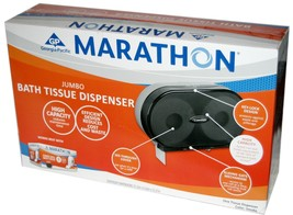 Georgia Pacific Marathon Jumbo Toilet Paper Dispenser Commercial 2 Roll ... - $27.55