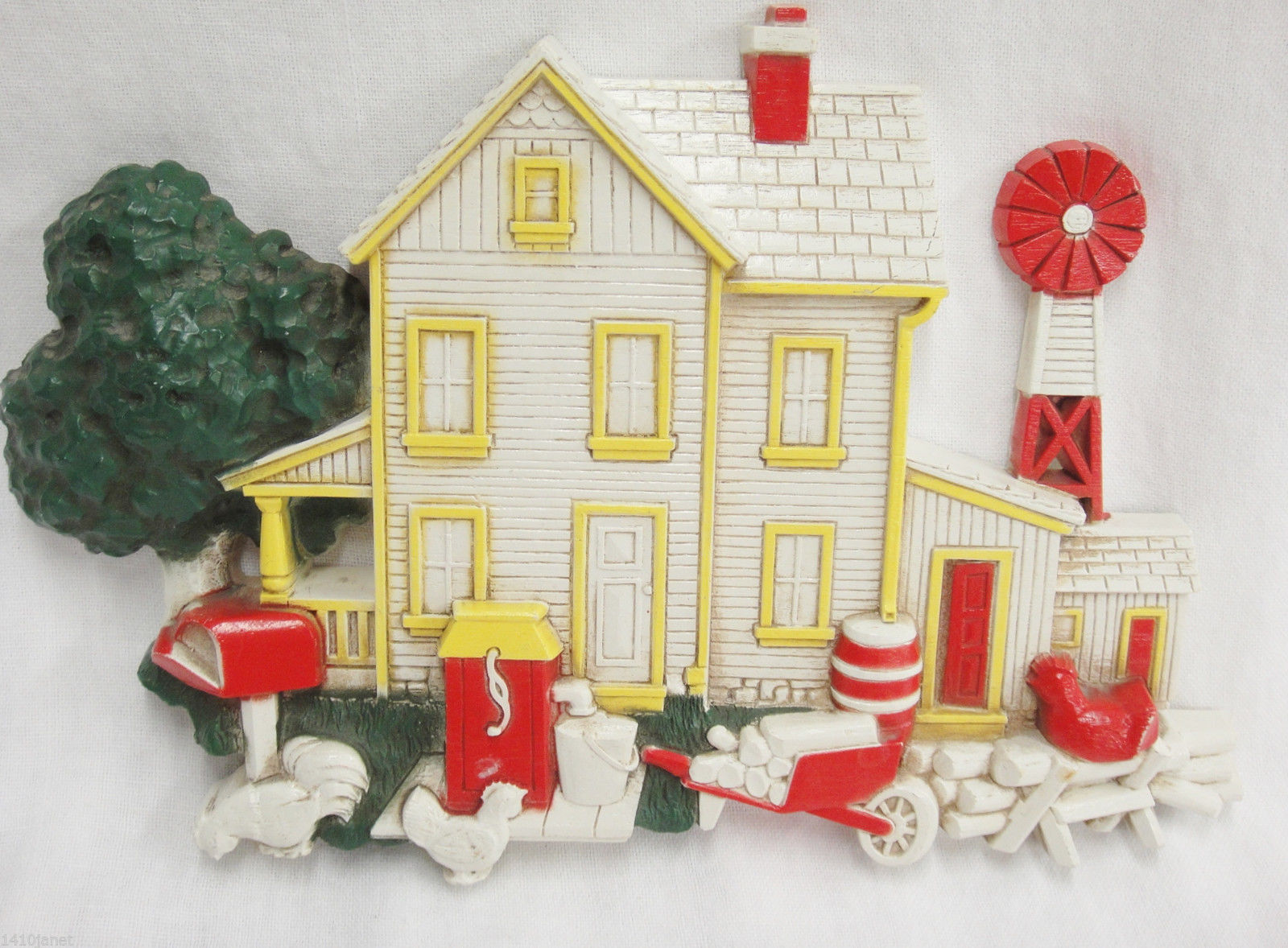Homco Country Farm House Plastic Wall and 50 similar items
