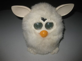 Hasbro Furby 2012 Edition A Mind Of Its Own Yeti White Tested Works! - $49.49