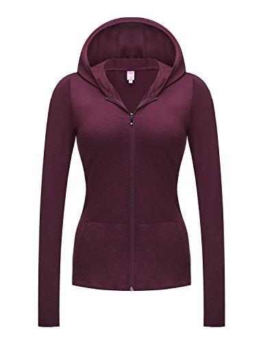 REGNA X NO BOTHER Women's Full Zip Running Performance Plus Size Hoodie Jacket,W