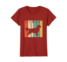 Vintage Golden Retriever T-shirt Retro color - $19.99+