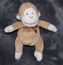 "Carters Small Mini Brown Tan Monkey Finger Puppet 5"" Kid Child Toy - $14.84"