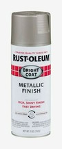 Rust-Oleum Aluminum Stops Rust Bright Coat Metallic Finish 11 Oz. Spray 7715-830 - $14.99