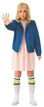Rubini Stranger Things Elevens Blu Giacca Donne Adulte Costume Halloween... - $28.39