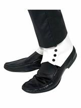 Smiffys Guêtres Gangster 20s sur-Chaussures Adulte Halloween Accessoire ... - $10.41