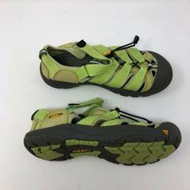 Keen Water Shoes Womens 6 Green Hiking Walking Secure Fit Lace - $19.28