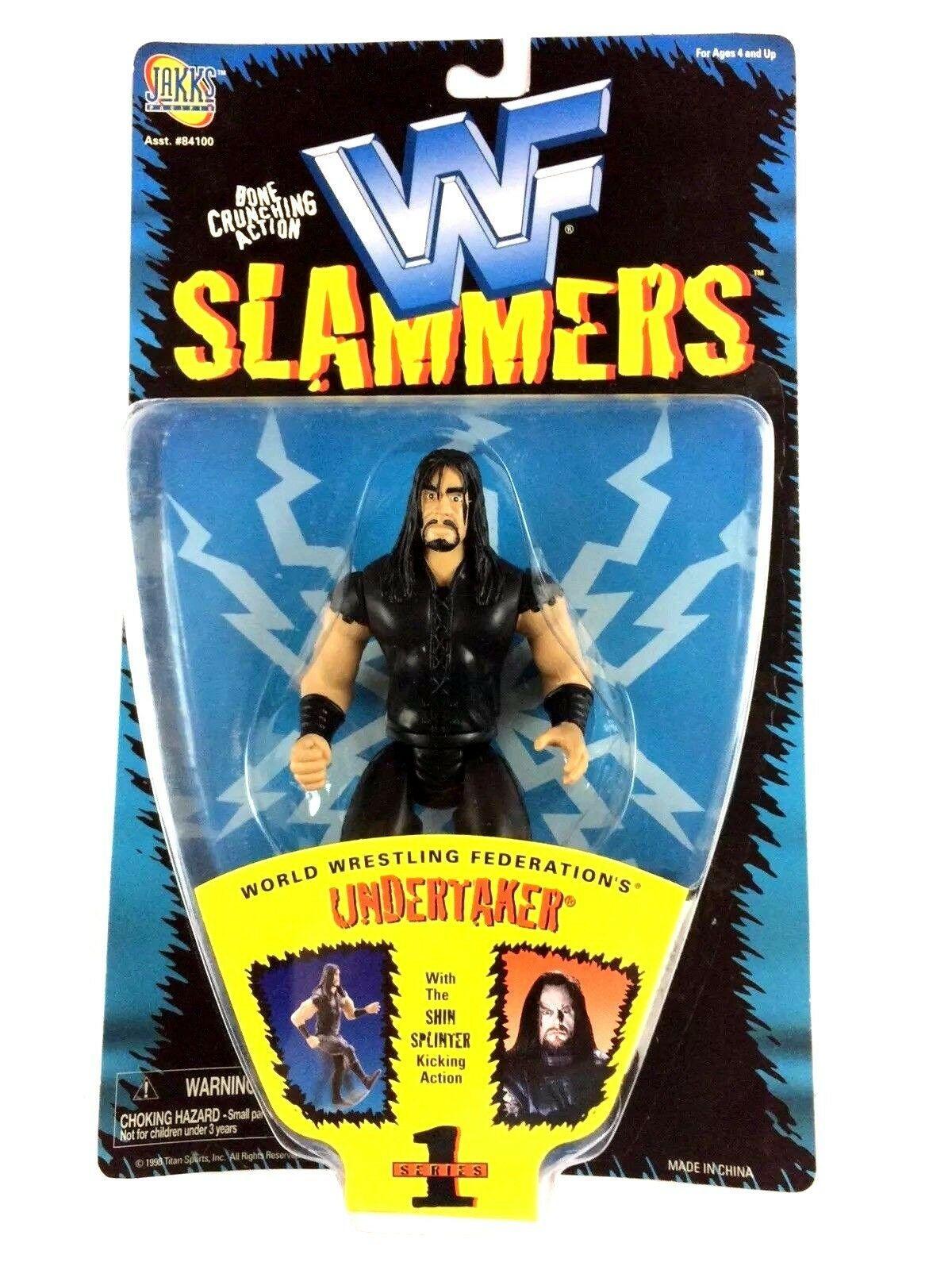 Undertaker WWF Slammers Series 1 Action Figure WWE Sealed 1998