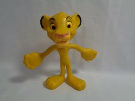 "Walt Disney World Resort Bendable Simba Lion King PVC Figure 4"" - $1.34"