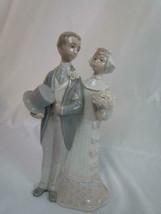 Vintage Lladro Spain Porcelain 1977 Wedding Bride and Groom #4808 EUC - $70.48