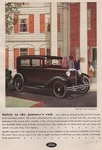 Orig Vintage Magazine AD/ 1930 Ford Tudor Sedan - $13.00