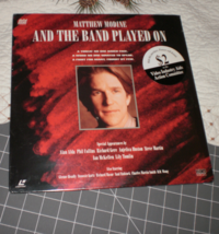 And The Band Played On Laserdisc Matthew Modine sealed - $21.00