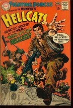 OUR FIGHTING FORCES #112-LT. HUNTER'S HELLCATS-DC WAR VG - $14.90