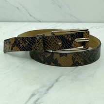 Banana Republic Snakeskin Leather Belt Size XS Womens - $14.73