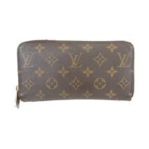 Louis Vuitton Bi-Fold Long Wallet Monogram Zippy Wallet M60017 Used Very... - $489.92