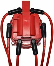 41-62 Chevy HEI Distributor 194 216 68-87 Toyota FJ40 FJ60 8mm Spark Plug Kit image 6