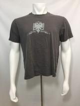 Rewire T Shirt Men L Restraint Initiative Double Head Griffin Gray Short... - $19.60