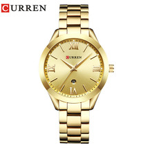 CURREN 9007 Rose Gold Watch Women Quartz Watches Ladies Top Brand Luxury Female  - $33.77