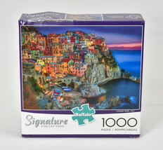 Buffalo Signature Collection Cinque Terre Italy Jigsaw Puzzle 1000 Pcs U... - $28.66