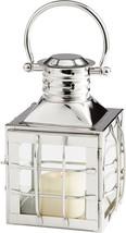 Candleholder CYAN DESIGN REMINGTON Small Nickel Glass - $210.00