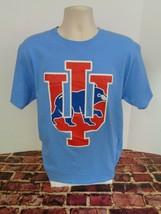 Chicago Cubs Indiana University Blue T Shirt L MLB IU Baseball College o - $14.65