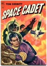 Tom Corbett Space Cadet #4 1953- Dell Sci fi rocket cover F/VF - $117.95
