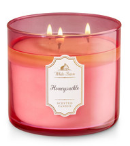 White Barn Honeysuckle Three Wick 14.5 Ounces Scented Candle - $22.49