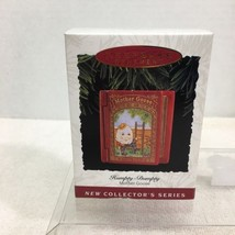 1993 Mother Goose #1 Humpty Dumpty Hallmark Christmas Tree Ornament MIB Tag H5 - $12.38