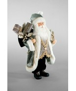 """katherine's collection Santa Claus Pewter silver holiday  Christmas  18"""" - $88.00"""