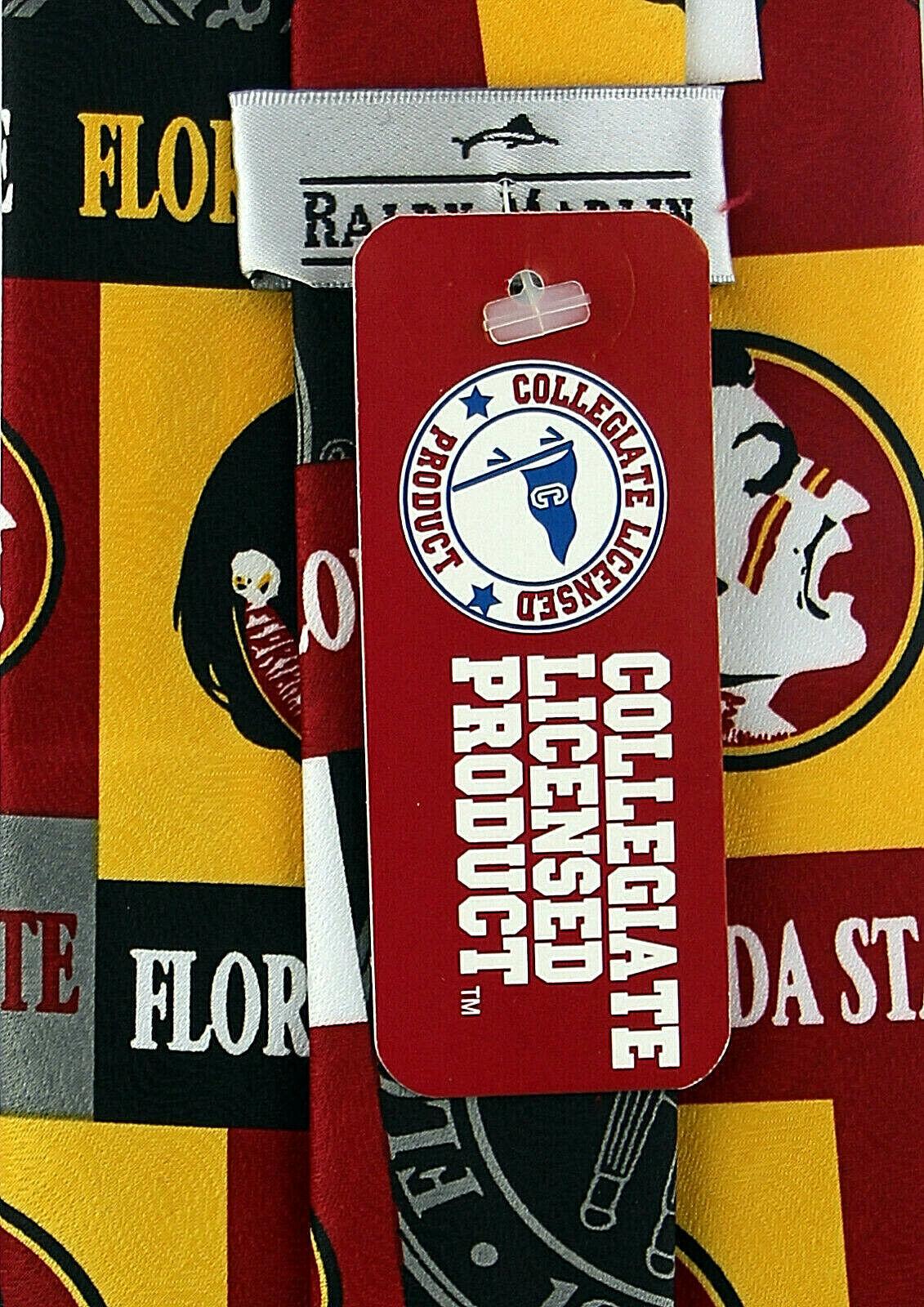 Florida State Seminoles Men's Licensed Necktie College University Red Neck Tie  image 3