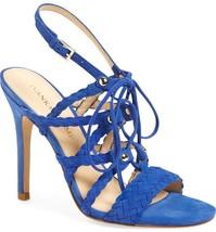 Ivanka Trump Hera Sandal Blue Heels Sz 9M NWD B66 - $49.79
