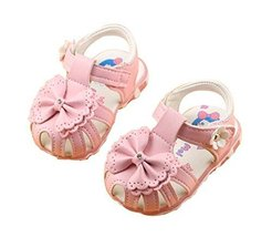0-1-2 Years Old Baby Toddler Shoes Girls Summer Sandals Soft Bottom