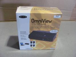 OEM belkin omniview 4-port KVM Switch E-series - $56.49