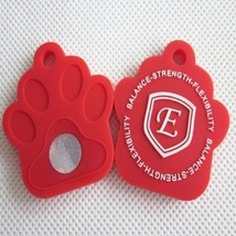 Electrified Feel Better Negative Ion Health & Wellness Pet Tag EJCN-SE002RED - $9.95