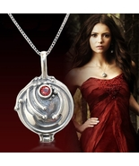 The Vampire Diaries Elena 925 Sterling Sliver Pendant Necklace Women Gift - $35.99