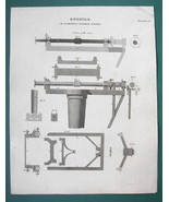RAMSDEN Engine for Graduating Instruments - (2) Two 1820 ABRAHAM REES Pr... - $10.71