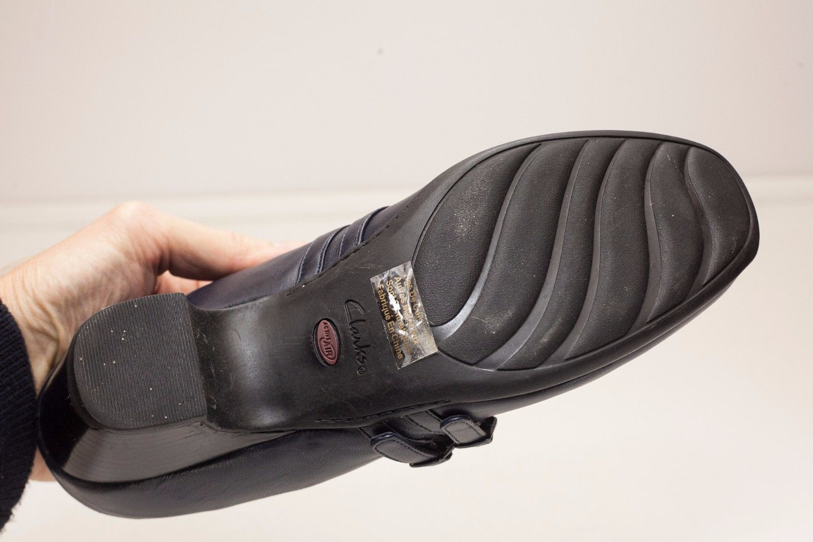 Clarks 9.5 Blue Mary Jane Heels