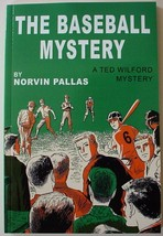 Ted Wilford The Baseball Mystery Norvin Pallas no.11 new reprint paperback - $12.00