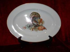 "Fitz & Floyd Harvest serving platter 14 1/2"" - $98.95"